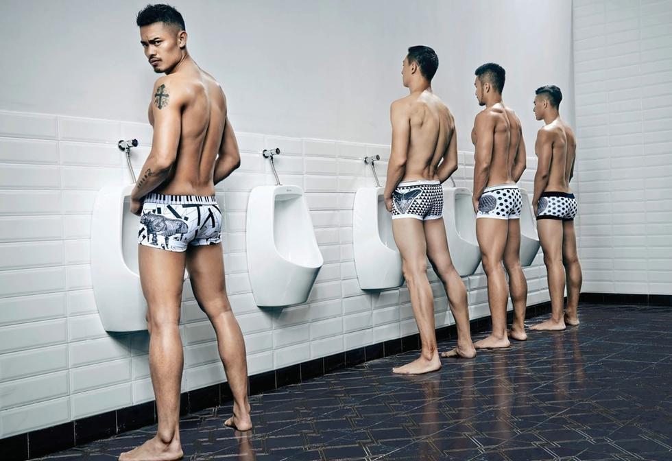 林丹内裤广告