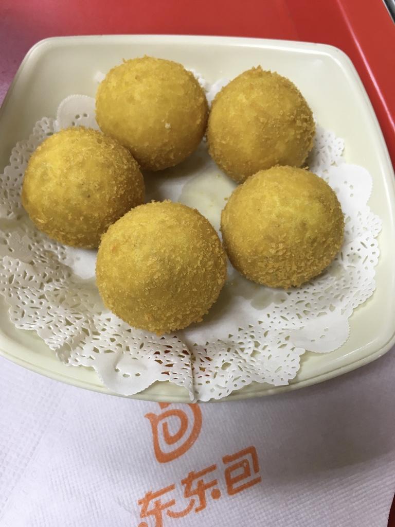 东东包-香芋地瓜丸