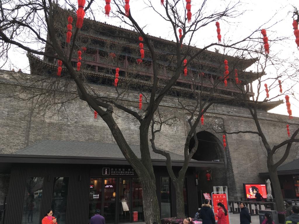 明城墙的某个入口