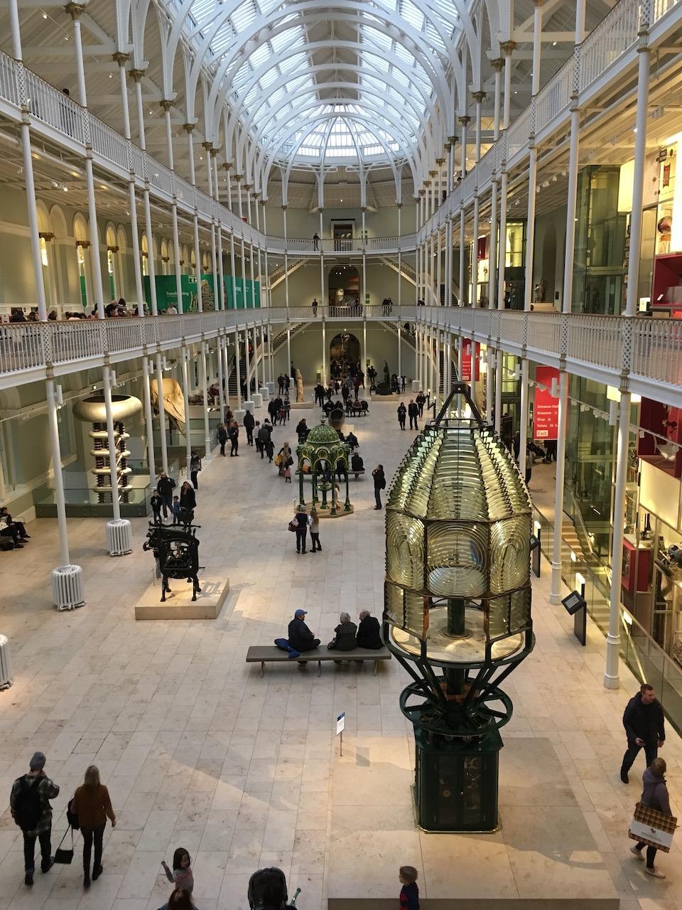 苏格兰国家博物馆内景