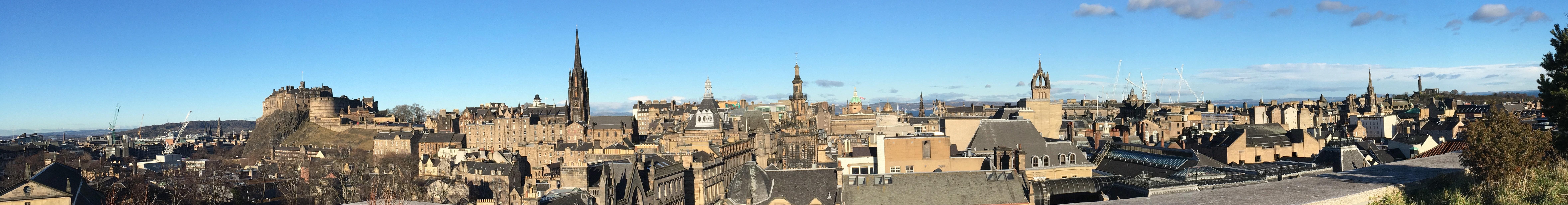 苏格兰博物馆的天台是绝佳的观景位置