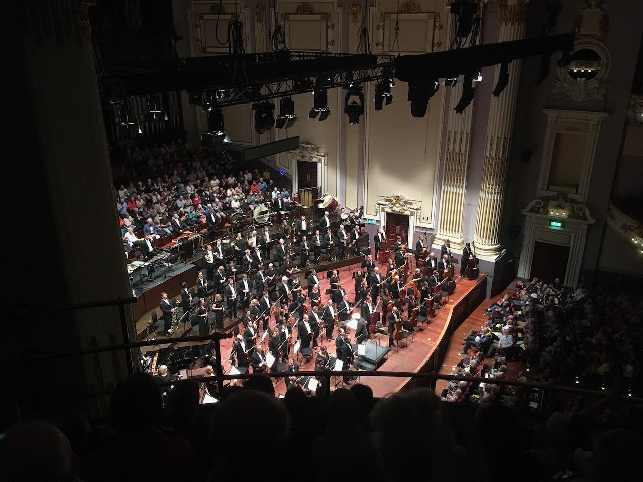 19年8月21日去听了London Symphony Orchestra的音乐会