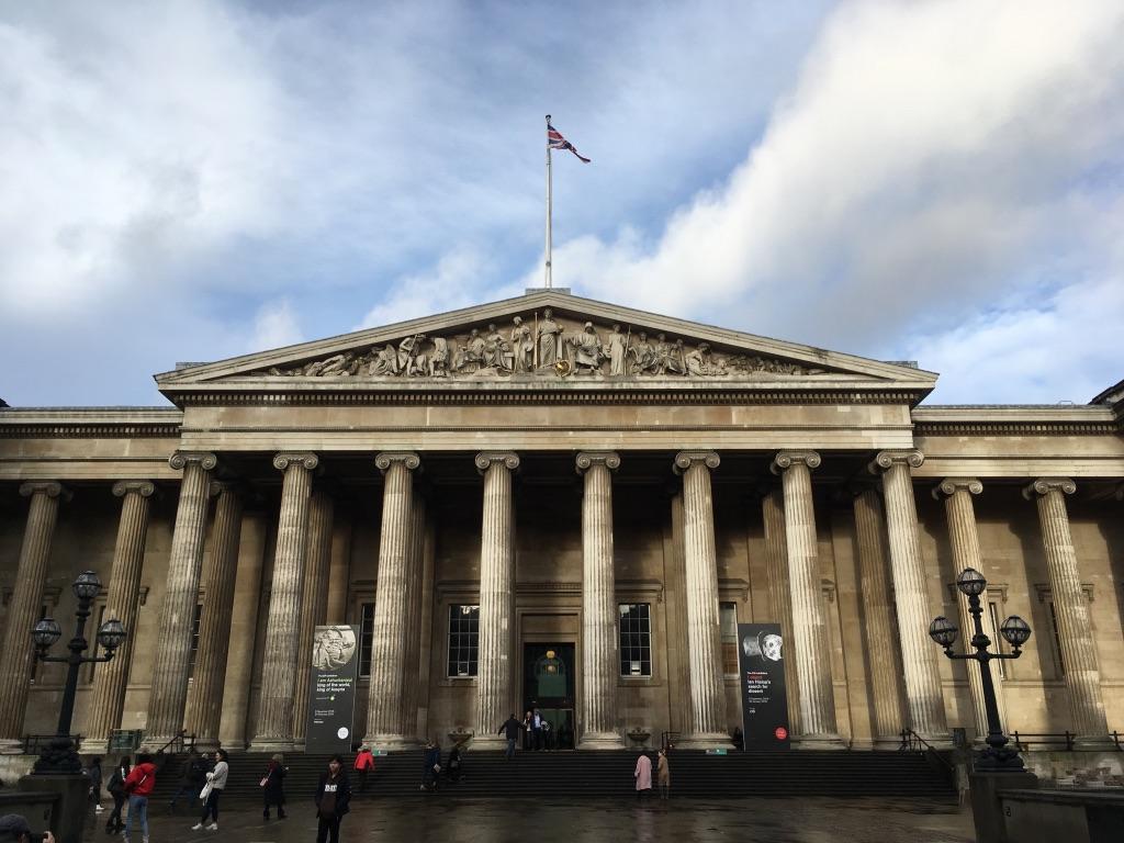 大英博物馆正门