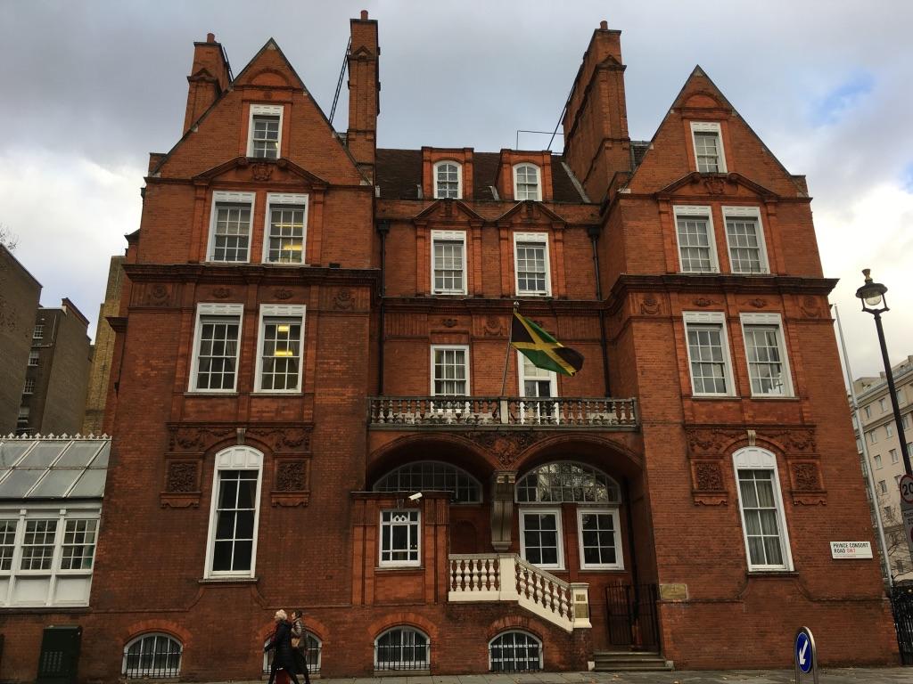 牙买加驻伦敦的大使馆
