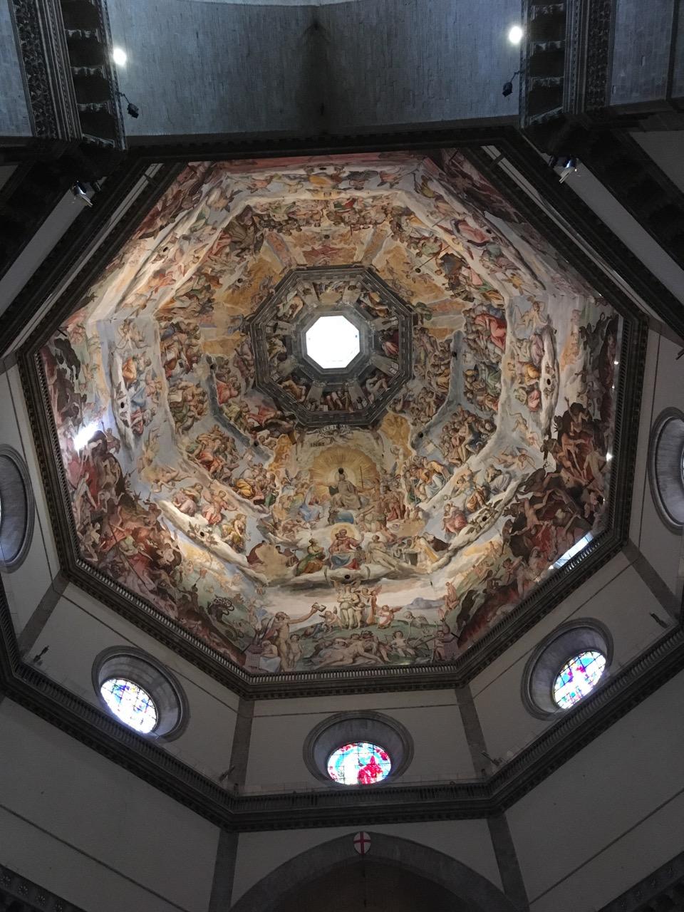 教堂的穹顶画