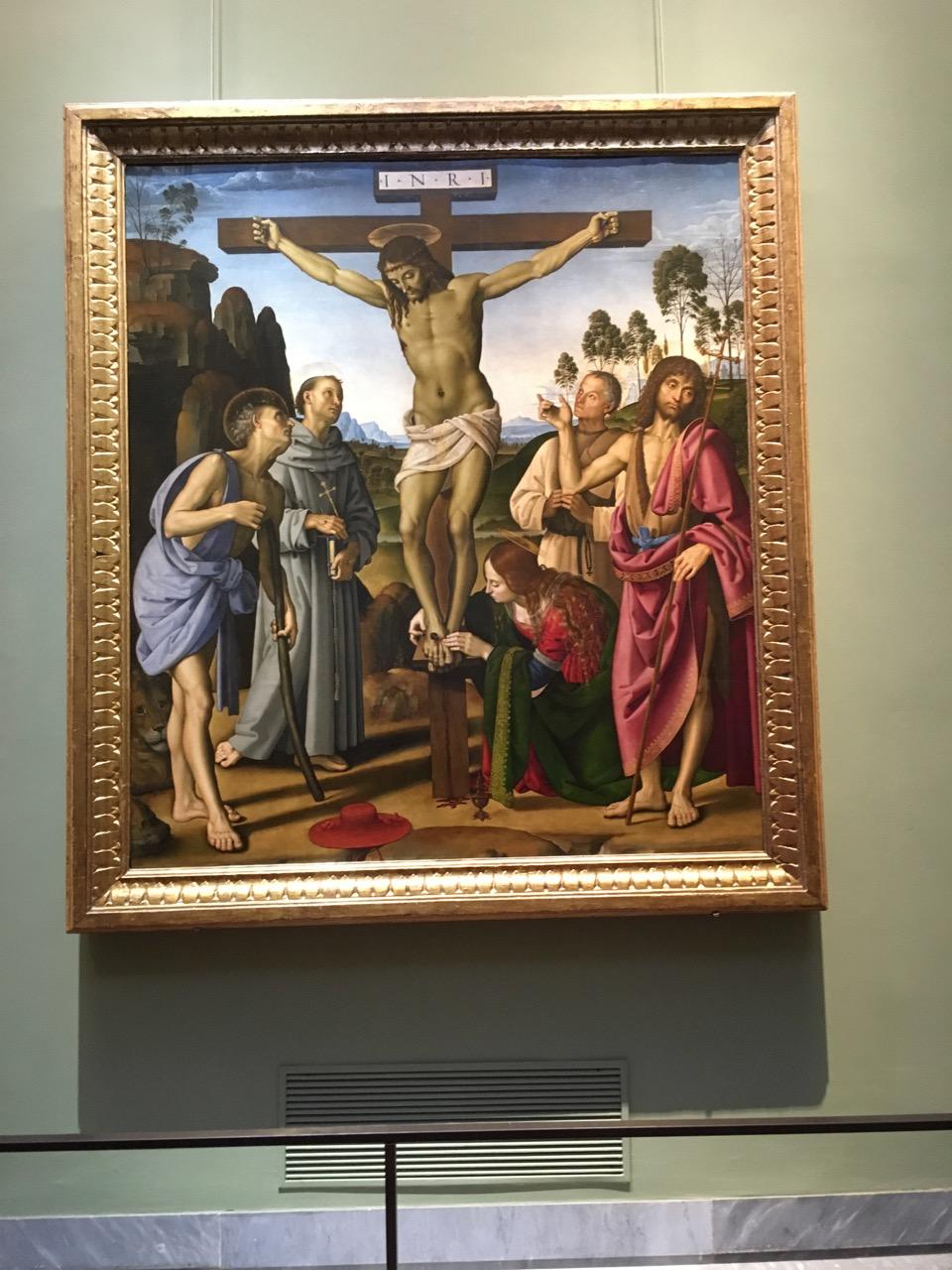 来了意大利,看到太多耶稣被钉死的画