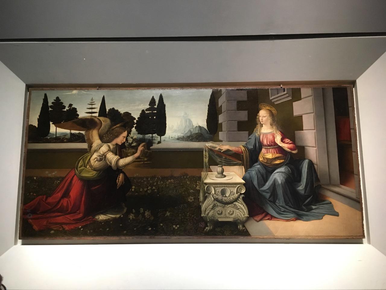 达芬奇的《圣母领报》,1472