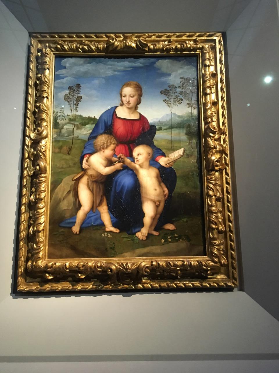 拉斐尔·圣齐奥的《金翅雀圣母》,1506
