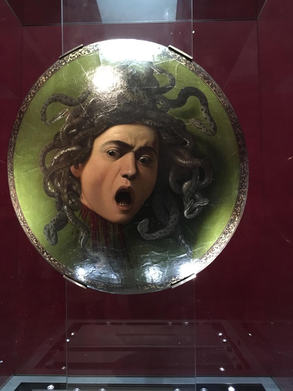 米开朗基罗的《美杜莎的头颅》,1598