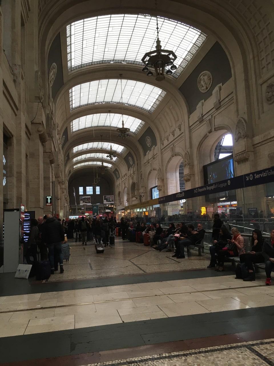 米兰火车站