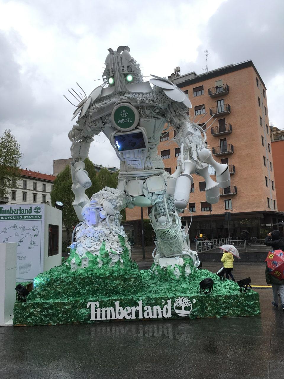 timberland的雕塑
