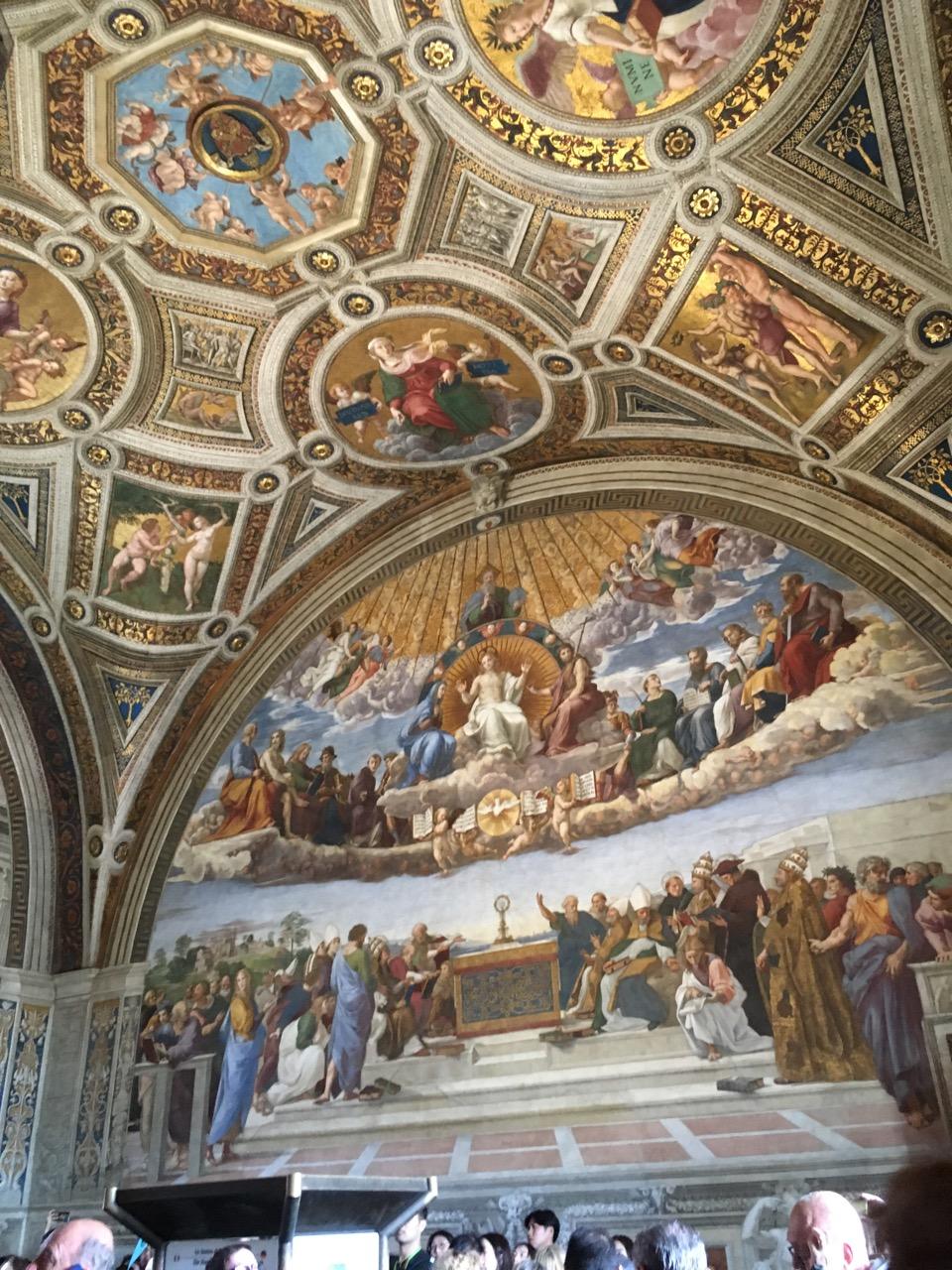 拉斐尔画室-圣礼之争