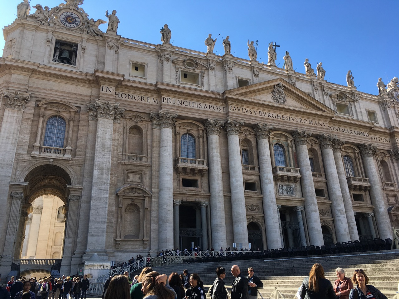 圣彼得大教堂正面