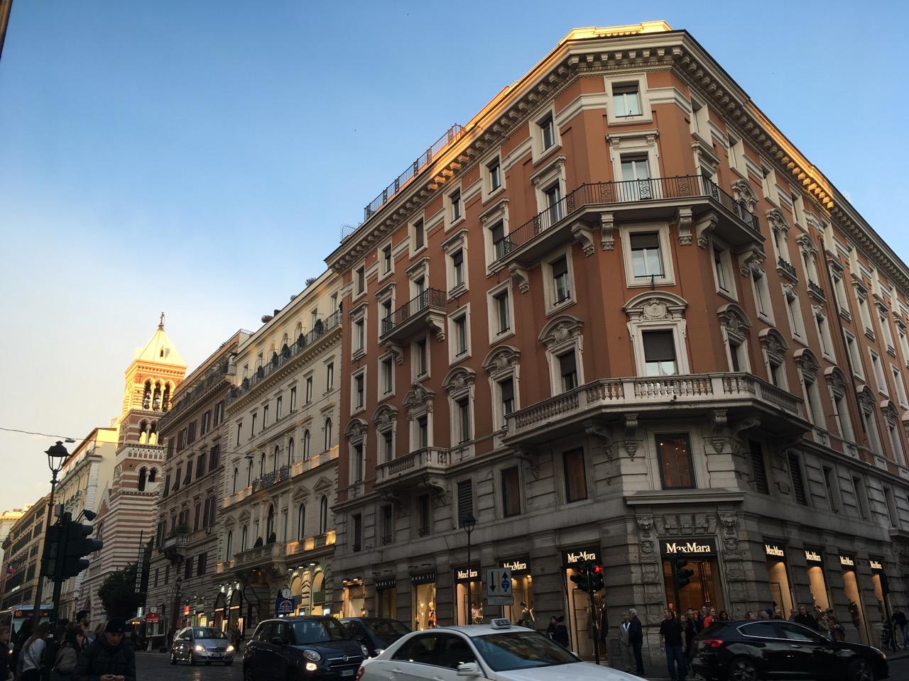 罗马的街道,感觉很棒