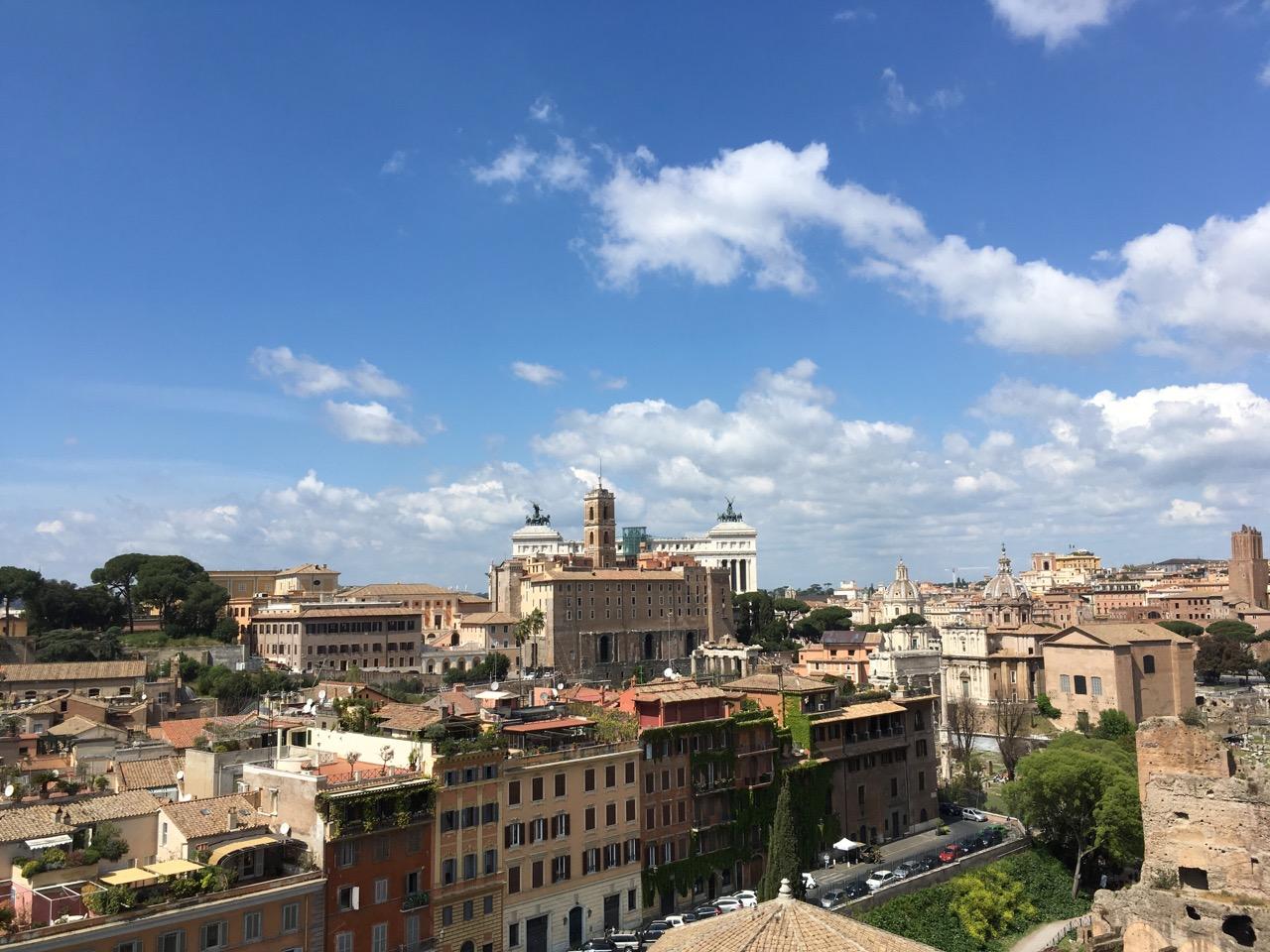 俯瞰罗马市区