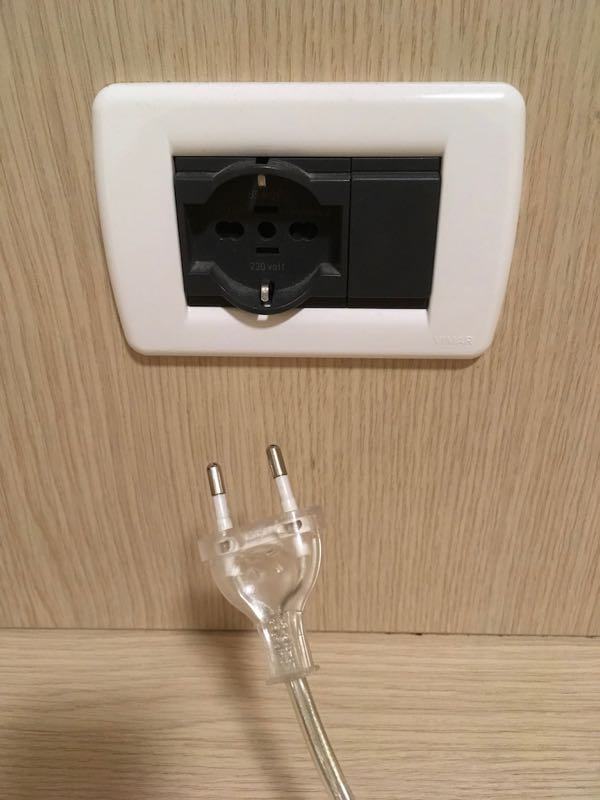 意大利的插座