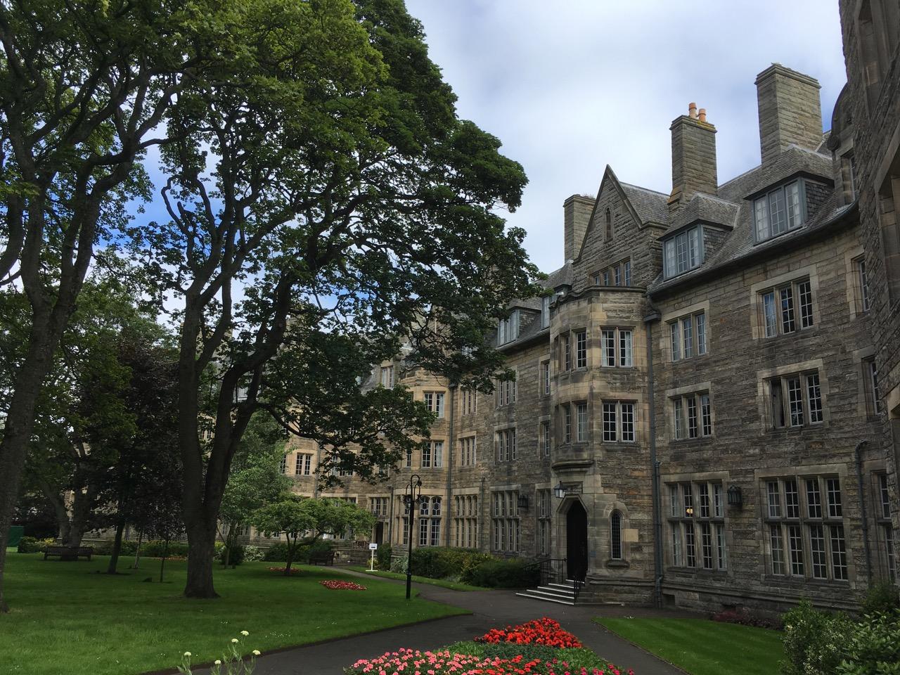 圣安大学的教学楼