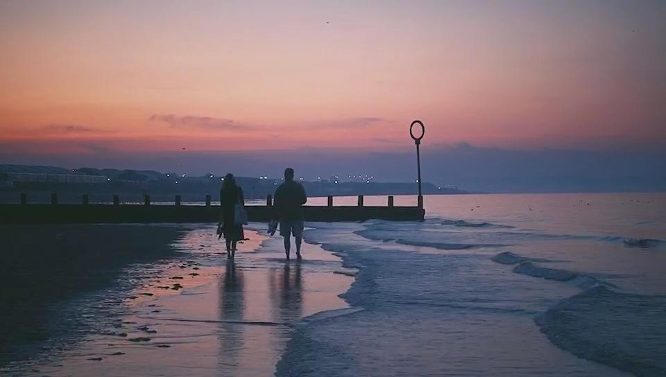 波多贝罗海滩的晚霞 by Dasick同学