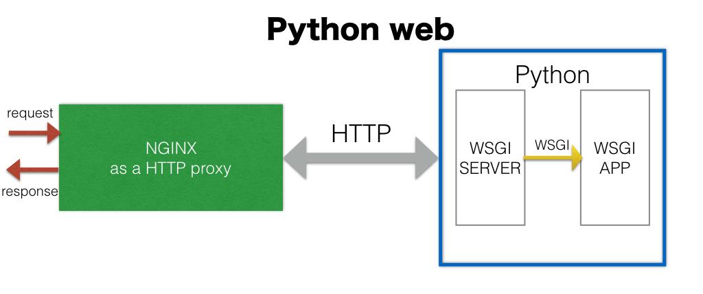 python web